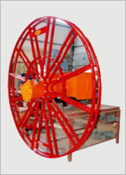 Flame Proof Motorised Cable Reeling Drums